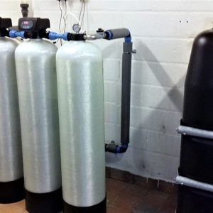2 stk Fe 300 med maxivent vandværk med 12 husstande