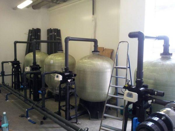 Industri multitrykfilter, sandfilter