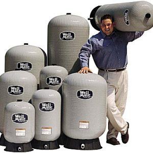 Wellmate hydrofor i glasfiber