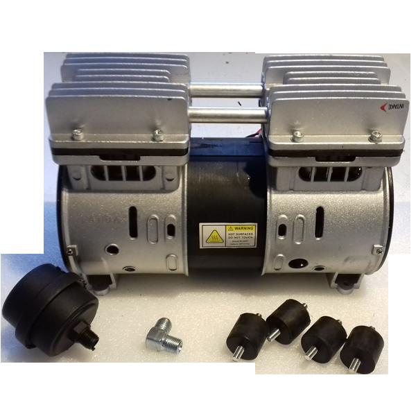 luftkompressor til vandrensning