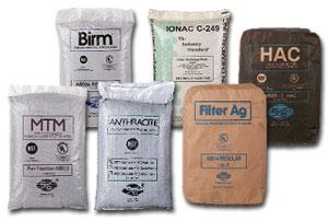 Filtec Fe filter materiale