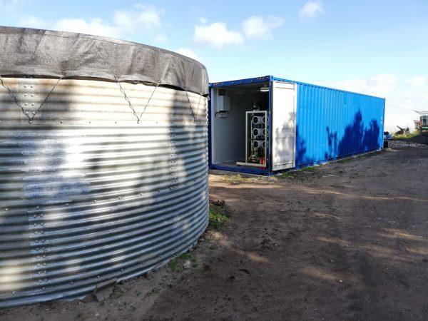 40 fods container med osmoseanlæg