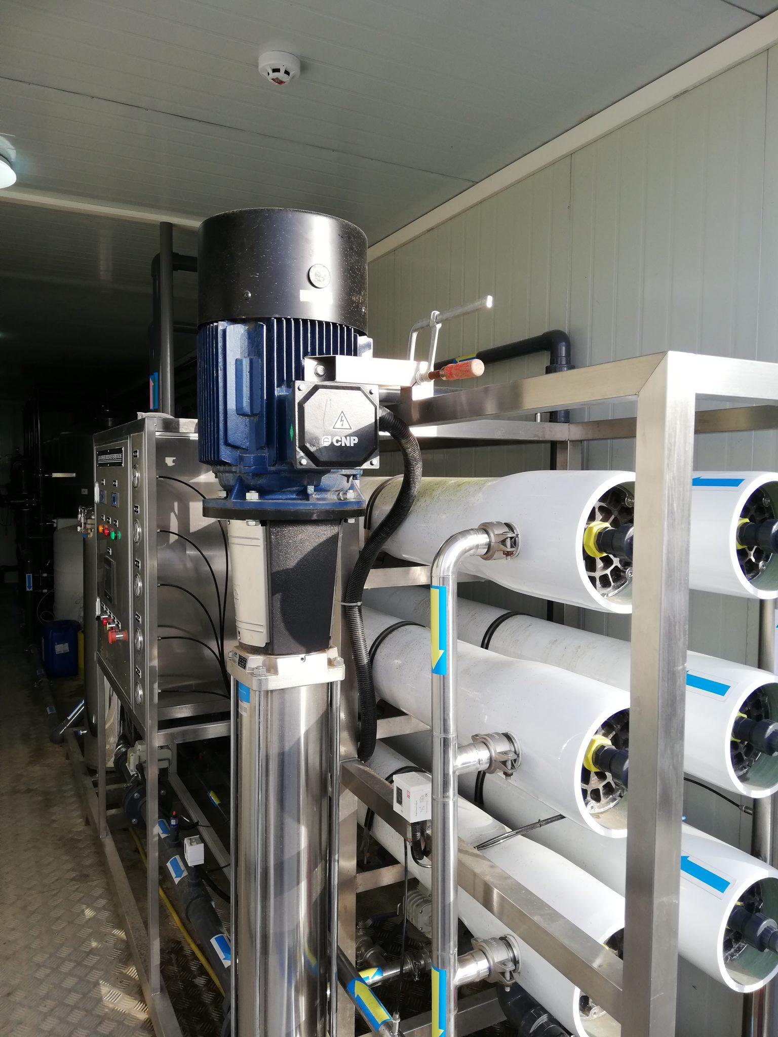Osmoseanlæg container